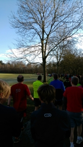 Morning Parkrun!